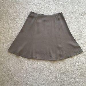 Express flare skirt size 5/6  Grey/Tan coloring